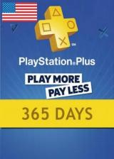 SUPERCDK.com, Playstation Plus 365 Days Card North America
