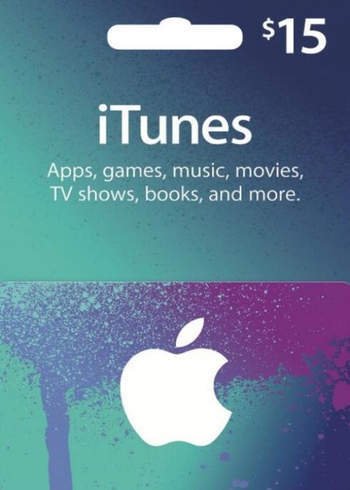 Apple iTunes Gift 15 USD