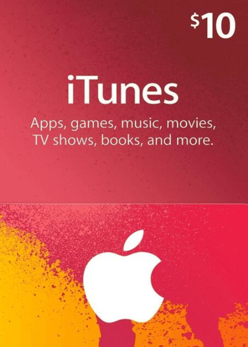 Apple iTunes Gift 10 USD