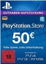 SUPERCDK.com, Play Station Network 50 EUR DE