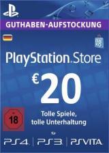 SUPERCDK.com, Play Station Network 20 EUR DE