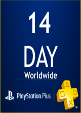 Official PlayStation PSN Plus Card 14 Days UK (PS4 Only)