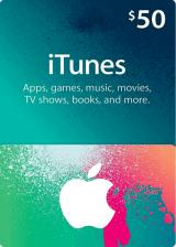 SUPERCDK.com, Apple iTunes Gift 50 USD
