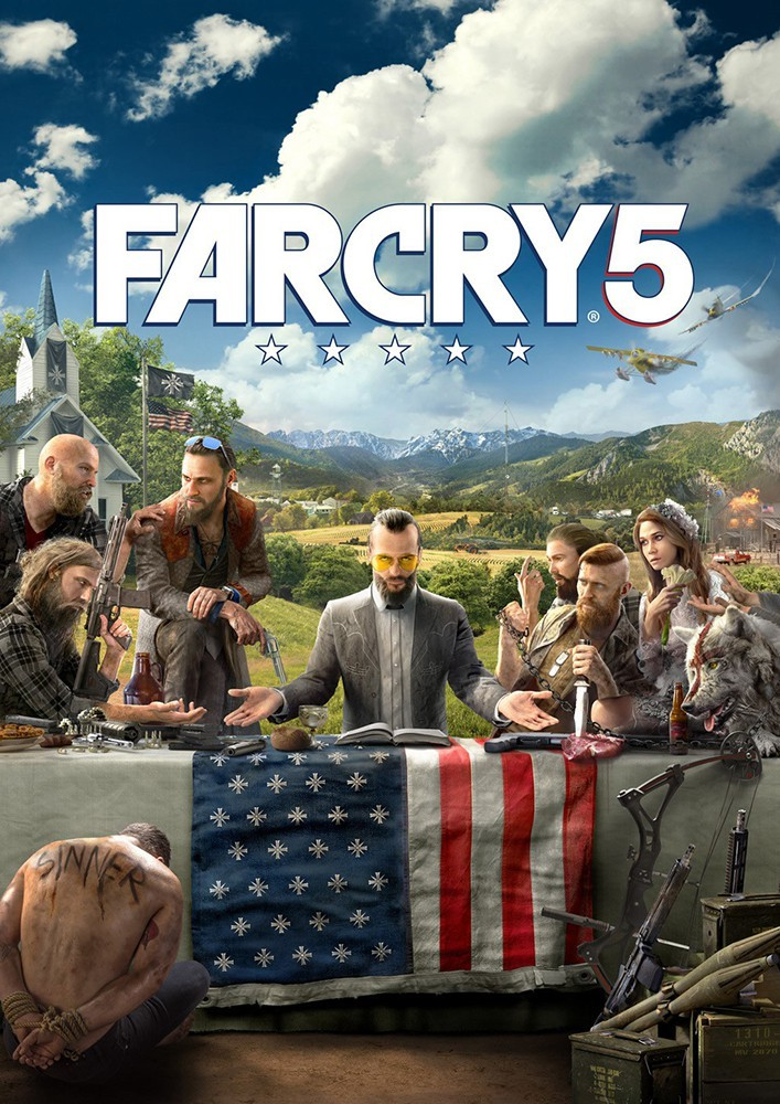 Far Cry 5 Uplay CD Key EU