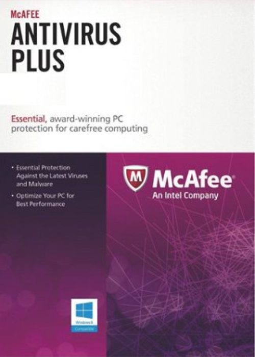 McAfee Antivirus 2017 Unlimited Devices 1 YEAR Global