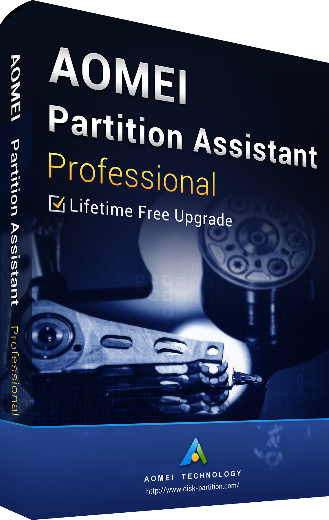 AOMEI Partition Assistant Professional + Free Lifetime Upgrades 8.6 Eidtion Key Global
