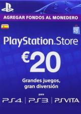 SUPERCDK.com, Play Station Network 20 EUR ES/SPAIN