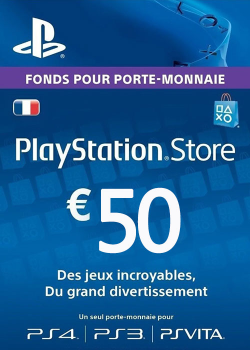 Play Station Network 50 EUR FR