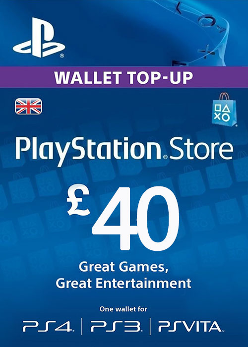 Play Station Network 40 GBP UK