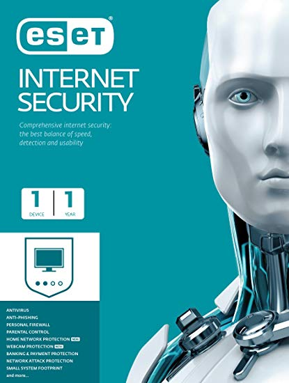 ESET Internet Security 1 Device 1 Year Key Global