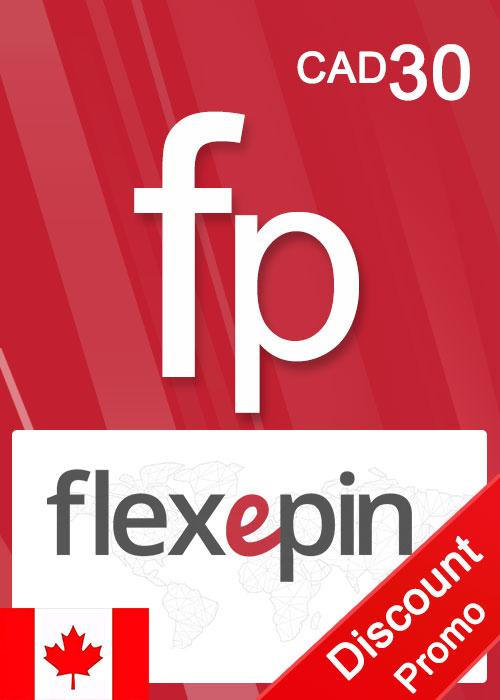 Flexepin Voucher Card 30 CAD