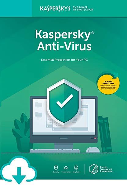 Kaspersky Antivirus 1 PC 1 Year Key Global