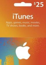 SUPERCDK.com, Apple iTunes Gift 25 USD