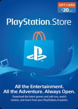 SUPERCDK.com, Play Station Network 20 USD