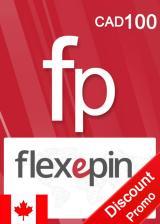 SUPERCDK.com, Flexepin Voucher Card 100 CAD