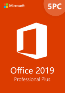Office2019 Professional Plus CD Key Global(5PC)